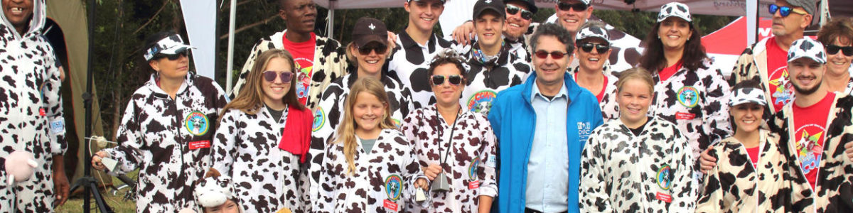 Record breaking first Comrades for CHOC Cows