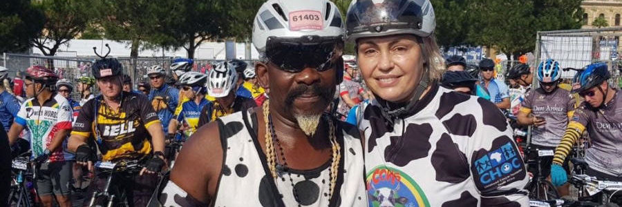 Dali and Rachel Tambo want to grow Cape Town Cycle Tour Herd